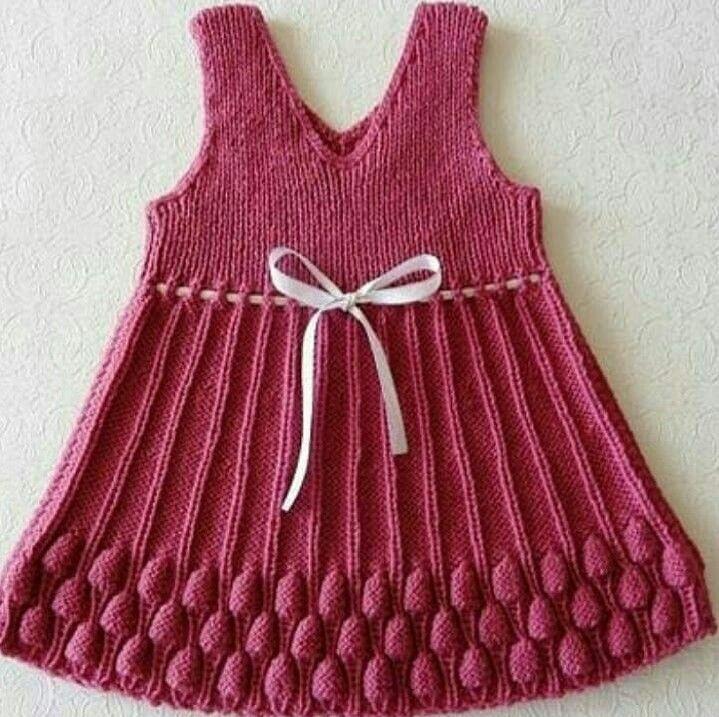 لباس بافتنی بچه گانه